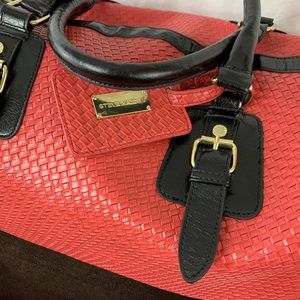 Steve Madden Coral Weave Design XL Duffle Bag